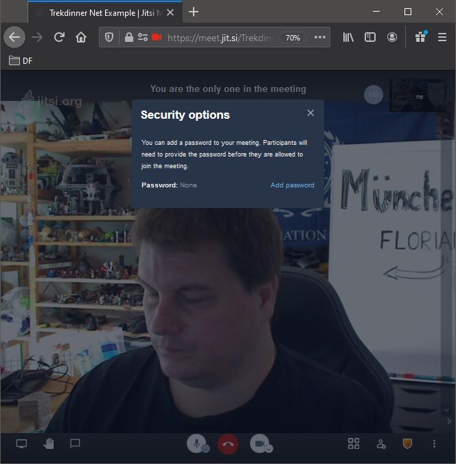 Sicherheitseinstellungen